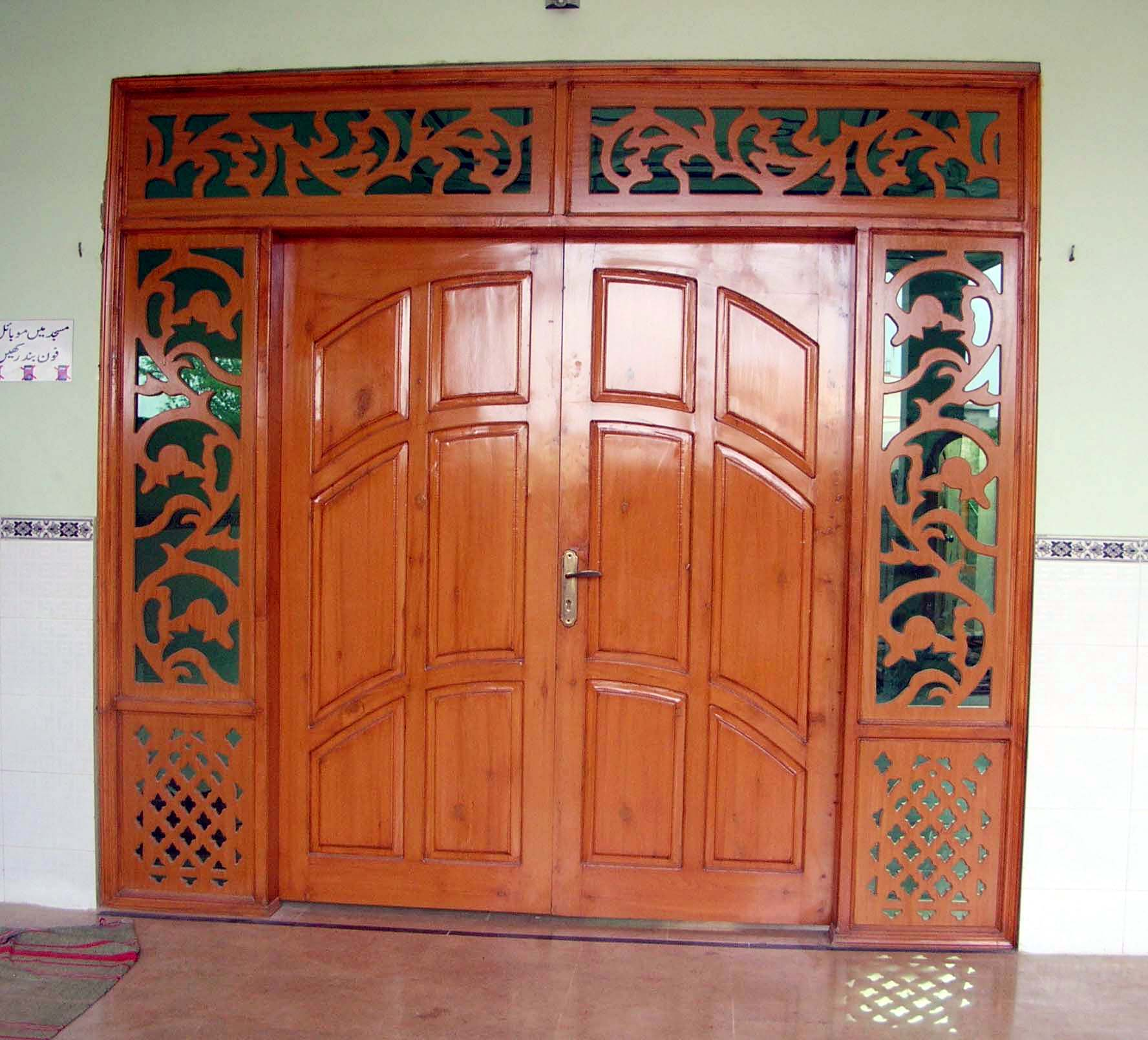 Is wooden door better or iron?