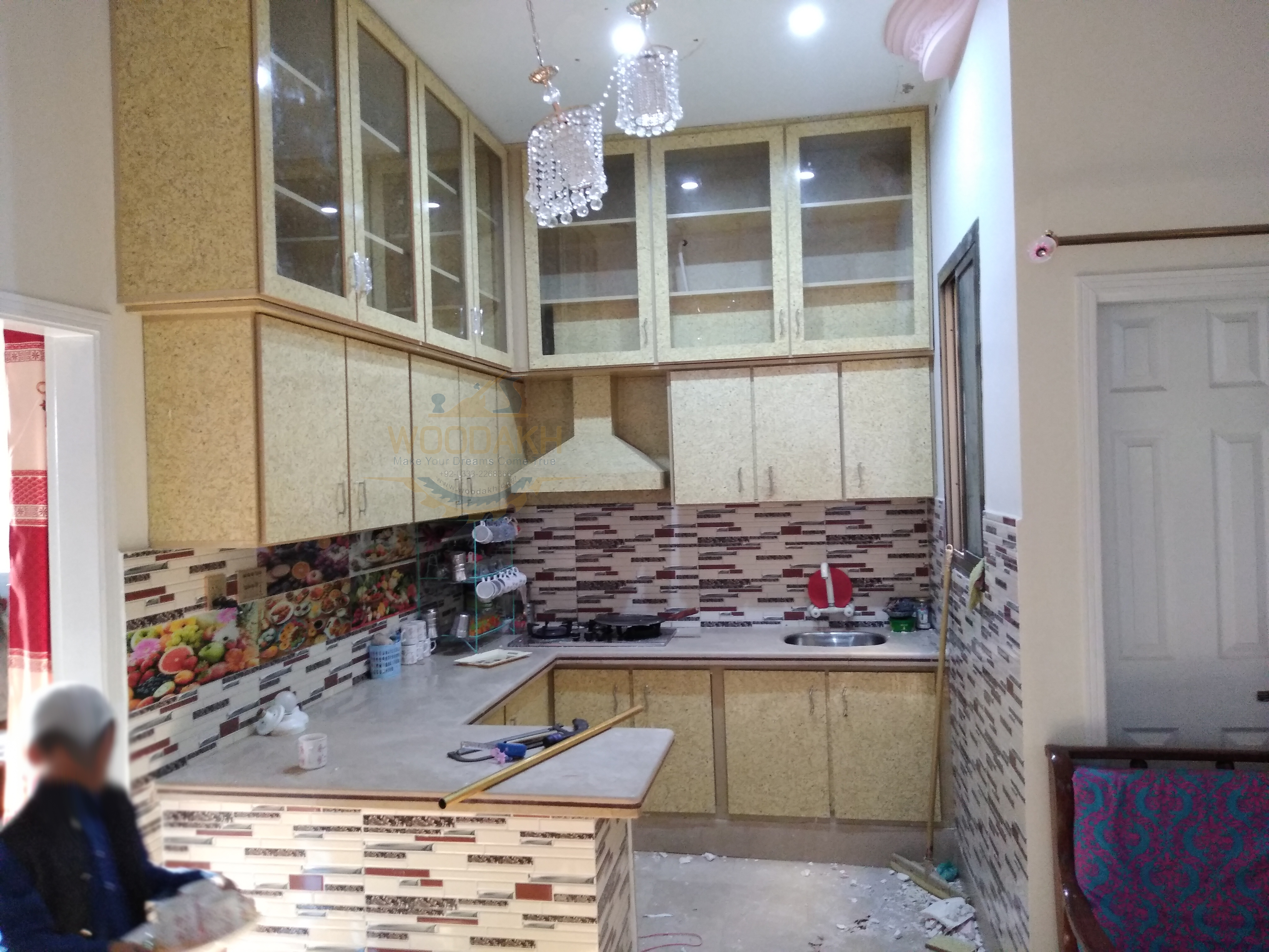No space left in this beautiful kitchen