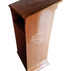 wooden Dise | Lecture Stand Wooden Rostrum Speech Podium