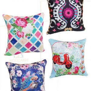 Cushion Pack Of 4 For home sofa decor office digital printed cushion for home decor