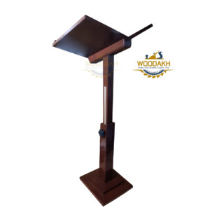 WOODAKH Height Adjustable Prayer Quran Holder Stand Ramadan Gift Rihal – Rehal Wooden Gift